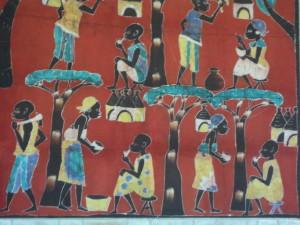 Batik africano